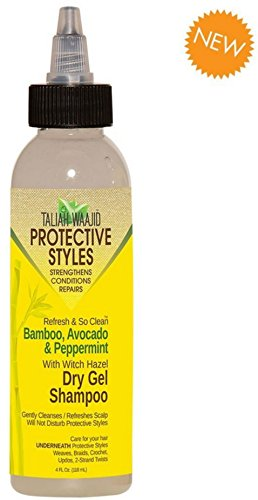 Taliah Waajid Refresh & So Clean Bamboo, Avocado & Peppermint Dry Gel Shampoo 4 oz