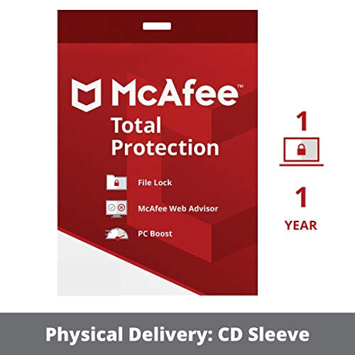 MCAFEE RETAIL BOXED PRODUCT McAfee Total Protection 2015