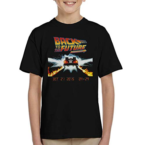 Back to The Future Count Down Kid's T-Shirt