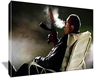 Tony Soprano Bear Watch Painting Poster Artwork on Canvas Art Print (16x24 inches)