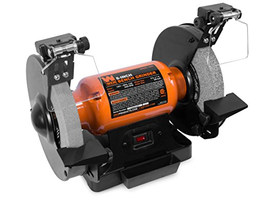 WEN 4282 4.8-Amp 8-Inch Bench Grinder with LED Work Lights