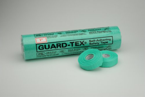 "Guard-Tex Finger Safety Tape (12 Rolls), 1"", Green"