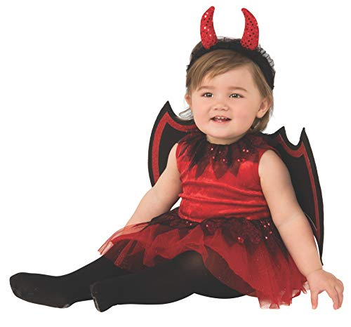 Rubie's Kid's Opus Collection Lil Cuties Little Devil Costume Baby Costume, As Shown, Toddler