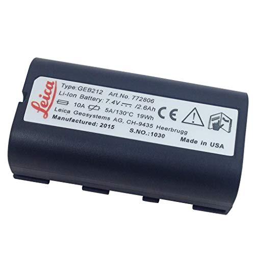 Batería de GEB212 Li-ion 2.2Ah batería para Leica ATX1200 ATX1230 GPS1200 GPS900...