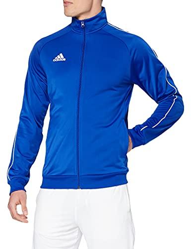 adidas Core18 PES, Giacca Uomo, Blu (Azzurro/Bianco), S