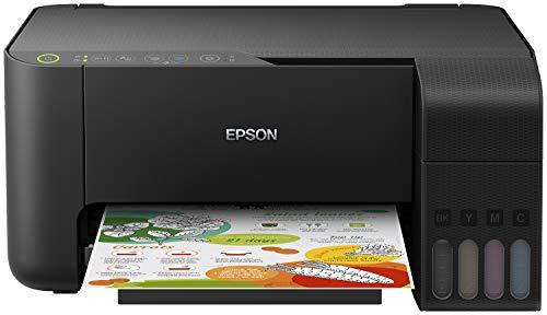 Epson EcoTank ET-2714, Stampante Multifunzione 3-in-1 inkjet, Connettività Wi-Fi e Wi-Fi direct, Stampa senza cartucce, Stampa Fronte/Retro