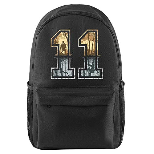 Stranger Things Casual Backpack Casual Simple Backpack Printed Daypack School Backpack Sports Rucksack Hiking Bag for Women and Men (Color : Black01, Size : 26 X 15 X 44cm)