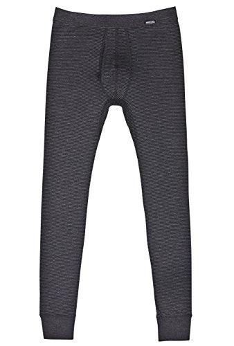 AMMANN ISCO lange Hose, Unterhose mit Eingriff, anthrazit, Gr. 7/XL