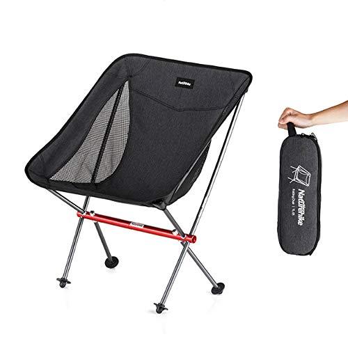 HMJZ Draagbare campingstoel licht opvouwbare kruk 150kg laadvermogen geschikt voor wandelaars strand vissen buiten