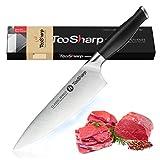 TooSharp Cuchillo de Chef/Serie Cocina Clásica Confort/Cuchillos de Acero Inoxidable Alto en Carbono X50CrMoV15-8' (200mm)