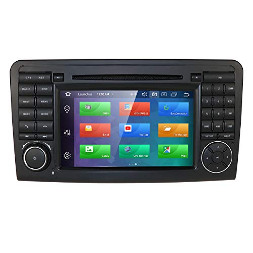 Android 10 Double Din Autoradio für Mercedes Benz ML-Klasse W164 GL-X164 (2005-2012) 7 Zoll 1024 * 600 Touchscreen DVD-Player Unterstützung GPS Navi DAB + RDS Radio Mirrorlink SWC WiFi Cam in