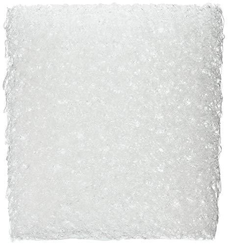 【Amazon.co.jp 限定】 クモリ(Kumori) チェアパッド 座面クッション エアメッシュ構造 両面使用可能 通気性 丸洗いOK 高反発 クッション 座布団 (42X42X5cm ホワイト)