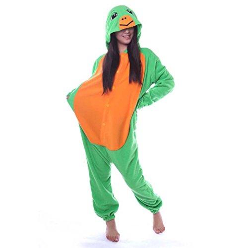 Venaster Pyjamas Cosplay Schildkröte Erwachsene Unisex Animal Pajamas Anime Schlafanzug Jumpsuits Spielanzug Kostüme