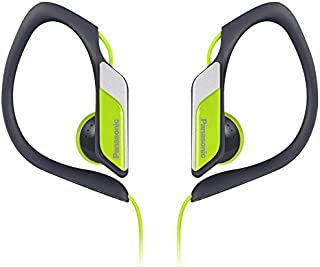 Panasonic RP-HS34E-Y In-Ear Sports Water Resistant Headphones, Yellow