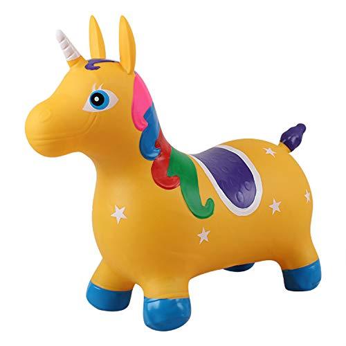 Toy Trichtersatz, Pumpe Inklusive, Kindersprungtrichter, Aufsitz-Hüpfburg Für Einhornpferde, Sitzen Und Hüpfen,C