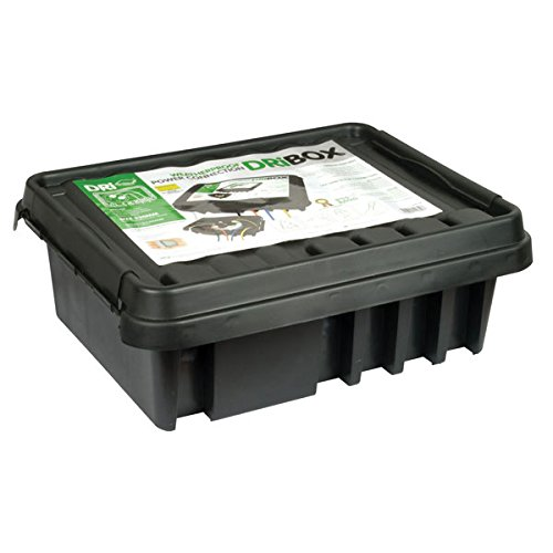 Dri-Box FL-1859-330 Scatola Impermeabile dB-330-Uk-B Ip55, NER, Nero