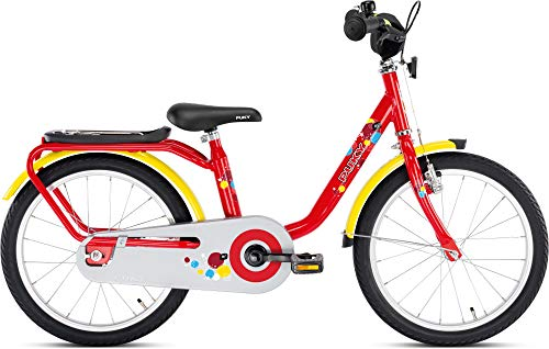 Puky Z 8 Kinder Fahrrad rot/gelb
