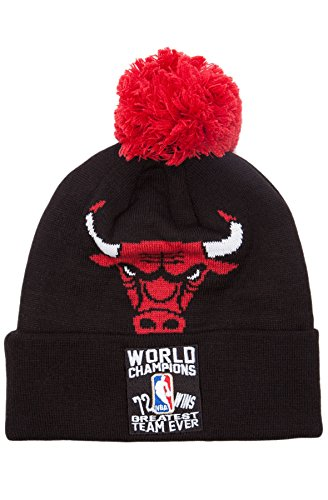 Chicago Bulls Mitchell & Ness Greatest Team Ever 72 Wins Knit Hat