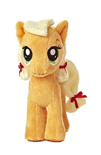 Aurora World My Little Pony Applejack Pony Plush, 6.5'