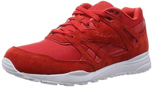 Reebok Ventilator Smb, Chaussures de Course Homme, Rot (Motor Red/White), 43 EU