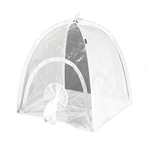 SODIAL Cobertizo de Aislamiento de Plantas Multifuncional Invernadero de JardíN Plegable Invernaderos Transparentes Juego de JardíN CáLido de PVC