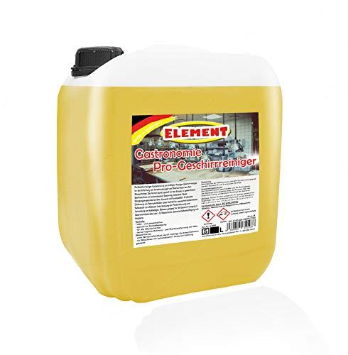 Geschirrreiniger für gewerbliche Spülmaschinen 5l flüssig 6 kg, Maschinenspülmittel Profi 5L ohne Chlor für gewerbliche Spülmaschinen Geschirrspülmittel Gewerbe Spülmaschine