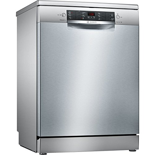 Bosch SMS46II01G Freestanding  Rated Dishwasher - Stainless Steel