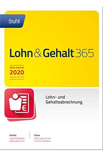 Lohn & Gehalt 365 (aktuelle Version 2020) Die ideale Software für die Lohnbuchhaltung in Unternehmen | 2020 | PC | PC Aktivierungscode per Email