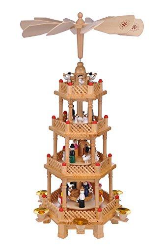 Haushalt International große Weihnachten 4 stöckig,ca.52 cm Bild