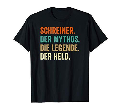Tischler Schreiner Geschenk T-Shirt