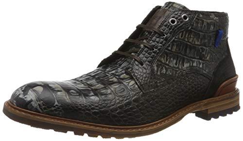 Floris van Bommel Herren 20228/21 Klassische Stiefel, Schwarz (Black Croco 21), 43 EU