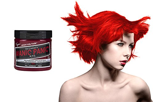 Manic Panic High Voltage Classic Cream Formula Colour Hair Dye (Pillarbox Red)