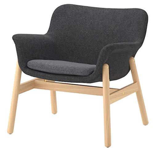 VEDBO IKEA Sessel mit Bezug Gunnared dunkelgrau