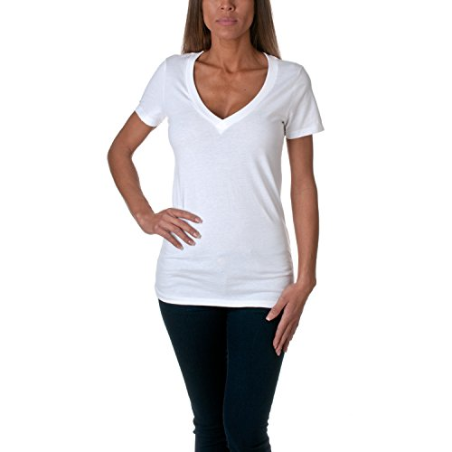 Womens Fitted Baby Rib Tee - 7