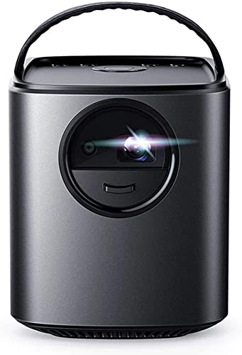 FDGSD Proyector de Cine en casa portátil de 300 LM con Altavoces de 10 W con Imagen DLP de 720p 30-150 ''