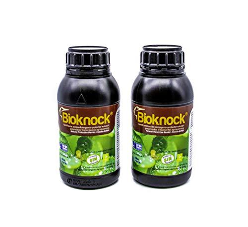 BIOKNOCK 2 Pulgón/Mosquito V./Insectos. Bio Protector-Reparador-Fertilizante Especial a Base de extractos y aceites Vegetales. Huerto/Jardín. Ecológico (1.000 m2).