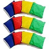 Joyibay 12 Stück Cornhole Tasche Kreativ Doppelschicht Sitzsack Tasche Werfen Für Corn Hole Game