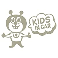 imoninn KIDS in car ステッカー 【シンプル版】 No.66 グッドさん (グレー色)