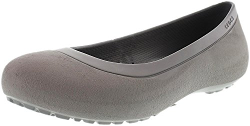 Crocs Womens Mammoth Flat Smoke/Smoke Ankle-High Rubber Flat Shoe - 7M