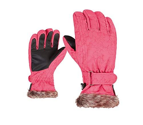 Ziener Kinder Ski Handschuh LIM Girls snowprint, Größe:5.5