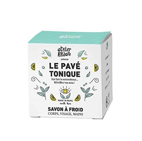 Le Pavé Tonique - Savon saponifié à froid - Atelier Populaire