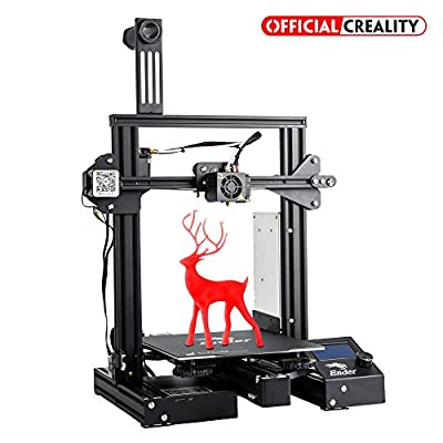 Official Creality 3D Printer Ender 3 Pro with Upgrade Magnetic Hotbed Sticker and UL Certified Power Supply