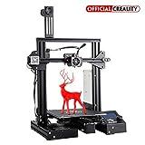 Boutique Officielle Creality Imprimante 3D Ender 3 Pro avec Autocollant pour lit Chauffant magnétique et Bloc d'alimentation certifié UL