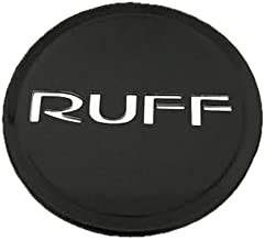 RUFF Racing Wheels C530502B/C Black Wheel Center Cap