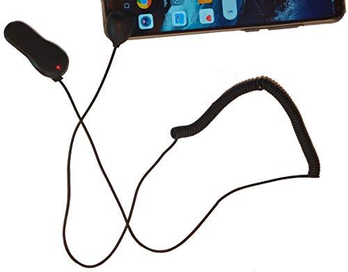 Elektronische Leinensicherung mit 2 Klebekontakten, Handy Sicherung, Tablet Sicherung