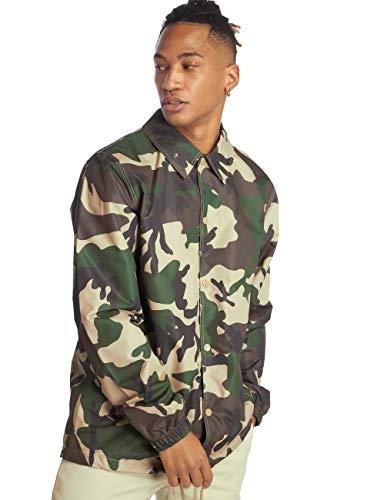 Dickies Torrance Abrigo Impermeable, Multicolor (Camouflage CF), Medium (Tamaño del Fabricante:Med'm) para Hombre