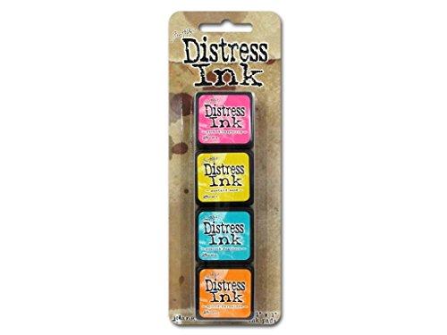 Distress Mini Ink Kits-Kit 1