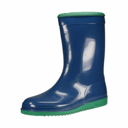 Romika Unisex-Kinder Kadett Gummistiefel, Blau (blau-minze 524), 33 EU