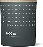 Skandinavisk Skog 'Forest' Scented Candle. Fragrance Notes: Pine Needles and Fir Cones, Birch Sap and Lily of The Valley. 7.0 oz.