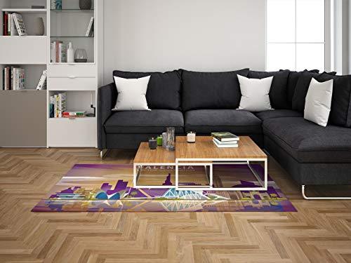 Oedim Alfombra Valencia para Habitaciones PVC | 95 x 165 cm | Moqueta PVC | Suelo vinílico | Decoración del Hogar | Suelo Sintasol |